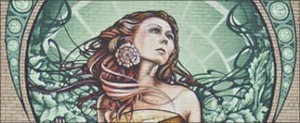 Art Nouveau Inspired Mural