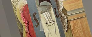 Picassos Collage Materials Guitars 1912-1914
