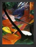 Franz Marc: Deer in the Forest 1912