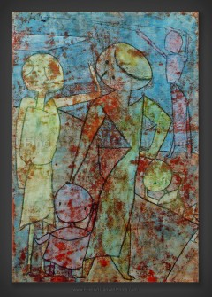 Paul Klee: Group Going Home Soon