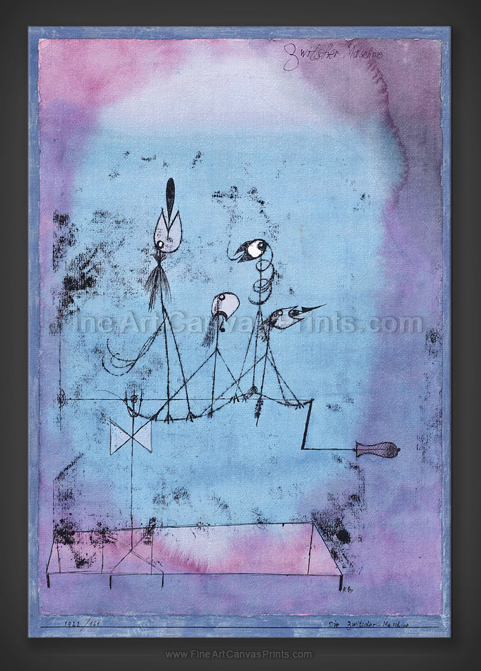 Paul Klee: The Twittering Machine 1922