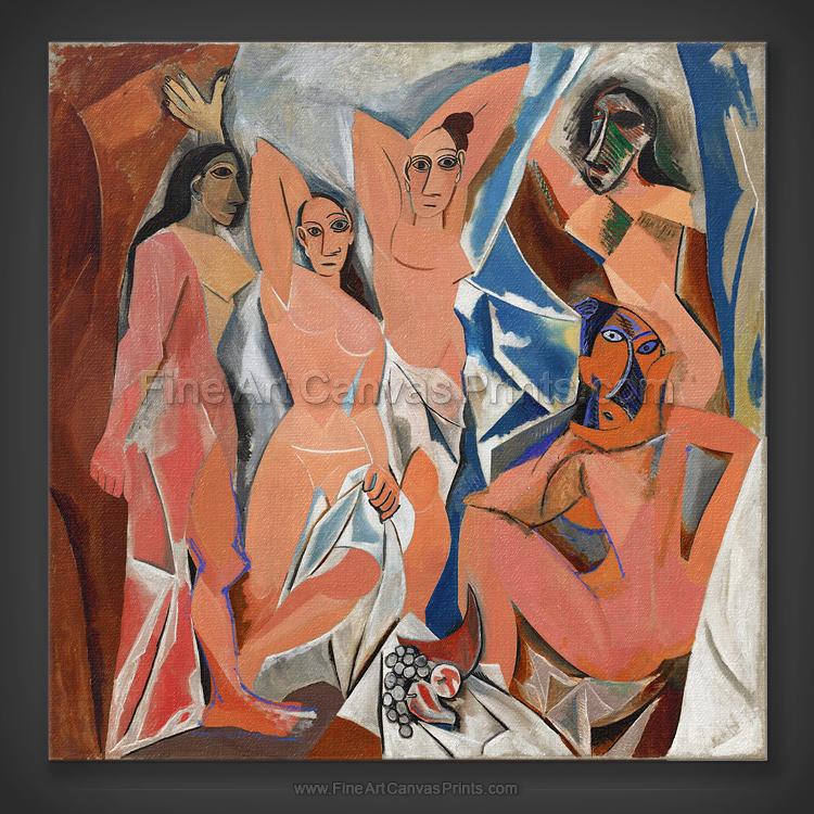 Pablo Picasso: Les Demoiselles d'Avignon 1907