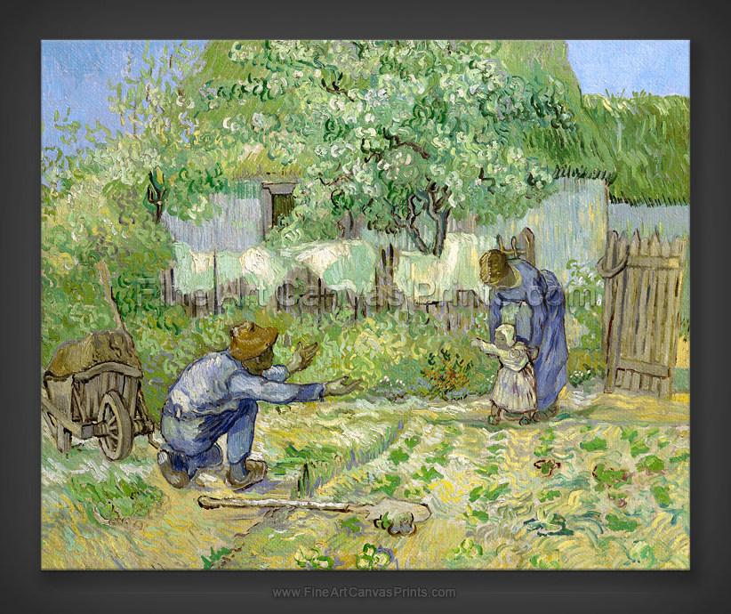 Vincent van Gogh: First Steps - after Millet 1890