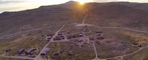 Bodie Ghost Town - From the Sky