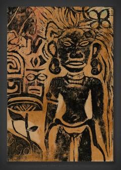 Paul Gauguin: Tahitian Idol - The Goddess Hina 1894