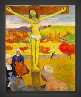 Paul Gauguin: The Yellow Christ 1889