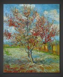 Vincent van Gogh: Pink Peach Tree in Blossom
