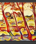 Georges Braque: Landscape at La Ciotat 1907