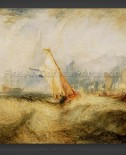 Joseph M.W. Turner: Van Tromp – Going about to please his Masters