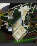 Juan Gris: Book, Pipe and Glasses
