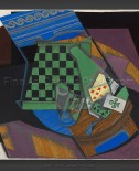 Juan Gris: Checkerboard and Playing Cards