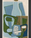 Juan Gris: Pipe and Tobacco Package