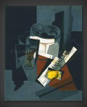 Juan Gris: Still Life with Newspaper
