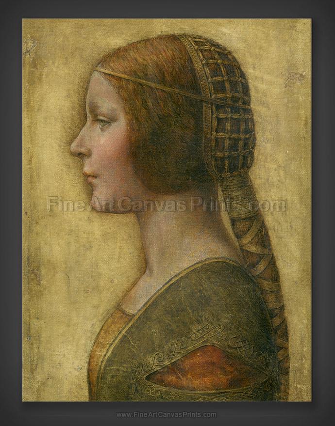 Leonardo Da Vinci: The Beautiful Princess 1495