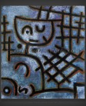 Paul Klee: Captive – Figure of this World–Next World – Blue