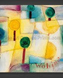 Paul Klee: Where? Young Garden