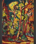 Ernst Ludwig Kirchner: Trees in Autumn