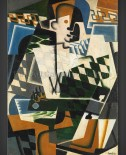 Juan Gris: Harlequin with a Guitar