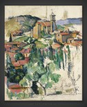Paul Cezanne: The Village of Gardanne