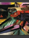 Franz Marc: The Wolves