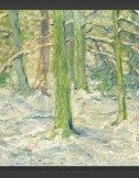 Franz Marc: Snow-covered Forest