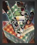 Juan Gris: Still Life with Checked Tablecloth
