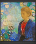 Odilon Redon: Portrait of Madame de Demecy
