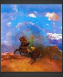 Odilon Redon: The Green Horseman
