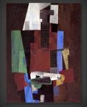 Pablo Picasso: Guitar Player 1916