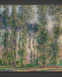 Claude Monet: Poplars at Giverny