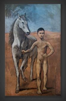 Pablo Picasso: Boy Leading a Horse 1905