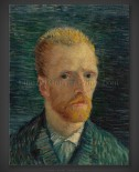 Vincent van Gogh: Self-Portrait 1887