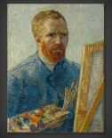 Vincent van Gogh: Self-Portrait as a Painter 1887