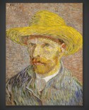 Vincent van Gogh: Self-Portrait with Straw Hat II 1887