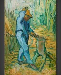 Vincent van Gogh: The Woodcutter – after Millet
