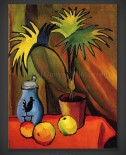 August Macke: Still Life with Palm
