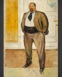 Edvard Munch: Consul Christen Sandberg