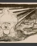 Edvard Munch: Theater program – John Gabriel Borkman