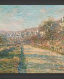 Claude Monet: Road of La Roche-Guyon