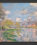 Claude Monet: Spring by the Seine