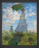 Claude Monet: Woman with a Parasol – Madame Monet and her Son