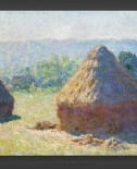 Claude Monet: Haystacks – End of Summer