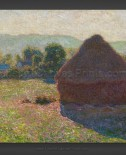 Claude Monet: Haystacks – Midday