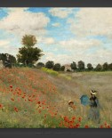 Claude Monet: Poppy Field 1873