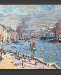 Claude Monet: Port of Le Havre