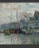 Claude Monet: Prins Hendrikkade and Kromme Waal – Amsterdam