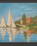 Claude Monet: Regattas at Argenteuil