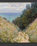 Claude Monet: Road at La Cavee – Pourville