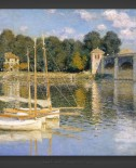 Claude Monet: The Argenteuil Bridge