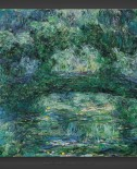 Claude Monet: The Japanese Bridge 1914